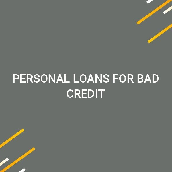 Personal Loans For Bad Credit